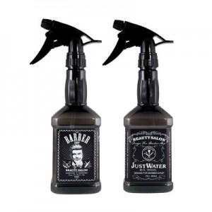 Βαποριζατέρ Νερού Barber JD 650ml - Mαύρο