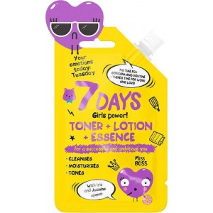 7DAYS YOUR EMOTIONS Toner Lotion Essence 20ml