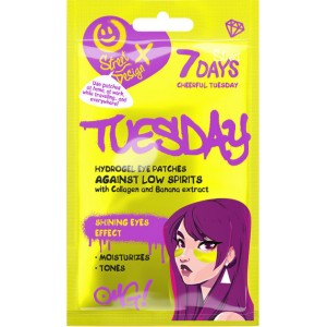 7DAYS Hydrogel eye patches CHEERFUL TUESDAY with Collagen and Banana Extract 2,5g