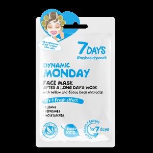 7 DAYS Sheet Mask Dynamic Monday 28g