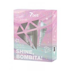 7DAYS Gift Set BOMBITA Light Pink Shine