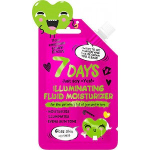 7DAYS YOUR EMOTIONS Illuminating Fluid Moisturizer 25ml