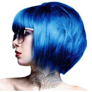 Crazy Color Semi Permanent Hair Color Capri Blue no44 100ml