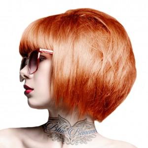 Crazy Color Semi Permanent Hair Color Coral Red no57 100ml