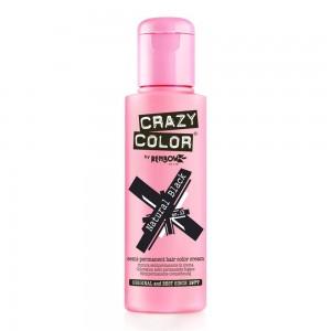 Crazy Color Semi Permanent Hair Color Natural Black no32 100ml