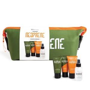 IDC Institute Neoprene Men's Gift Set Body Spray 60ml After Shave Lotion 60ml Face Wash 60ml Shaving Gel 60ml