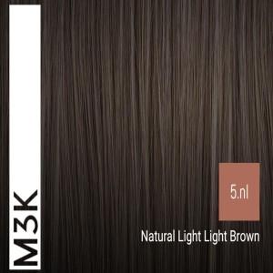 Sensus M3K Permanent Hair Color 5nl Natural Light Light Brown 100ml