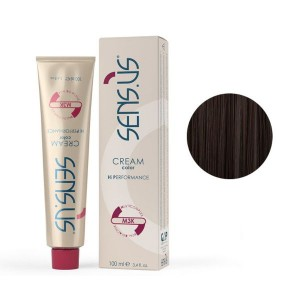 Sensus M3K Permanent Hair Color 4.14 Coffee Brown 100ml