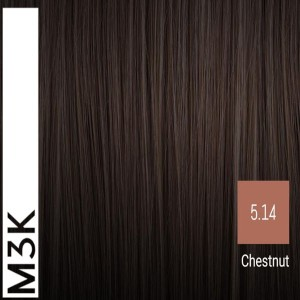 Sensus M3K Permanent Hair Color 5.14 Chestnut 100ml