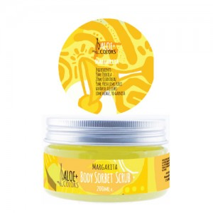 Aloe+Colors Body Scrub Margarita Sorbet 200ml