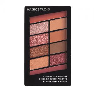 Magic Studio Παλέτα Σκιών και Ρουζ 4.6gr 10 colors B