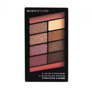 Magic Studio Παλέτα Σκιών και Ρουζ 4.6gr 10 colors A