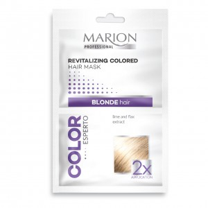 Marion Color Esperto Revitalized Colored Hair Mask for Blonde hair 2x20ml