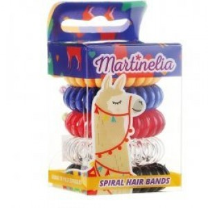 Martinelia  Λαστιχάκια Μαλλιών Σπιράλ Lama