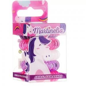 Martinelia  Λαστιχάκια Μαλλιών Σπιράλ Unicorn