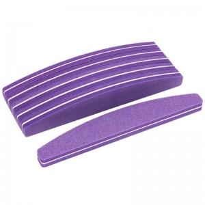 Professional Nail Buffer Purple (100/180)
