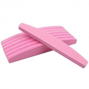 Professional Nail Buffer Pink (100/180)