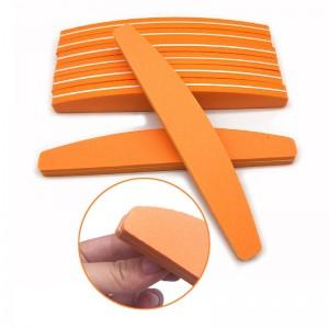 Professional Nail Buffer Orange (100/180)