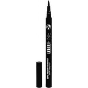 W7 Extra Fine Eye Liner Pen Black Waterproof 0.7ml