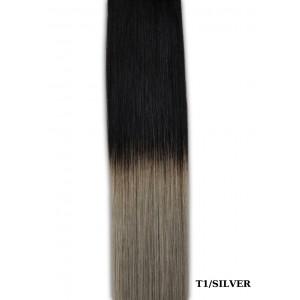 Sticker (10 Τμχ) Silk Feel Gold Line #T1 Silver