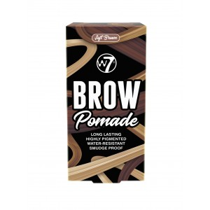 W7 Brow Pomade Soft Brown 4.25g